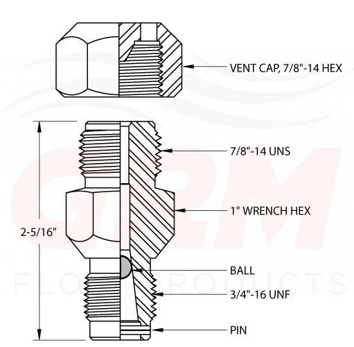 Vented Cap Body Grease | GRM Flow Products