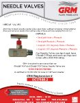 needle valve handout