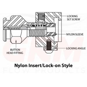 nylon leak lock fitting