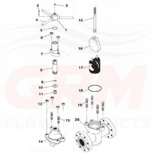 Api Gate Valve Replacement Parts Grm Flow Products