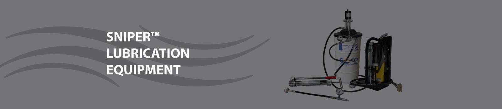 sniper lubrication equipment banner
