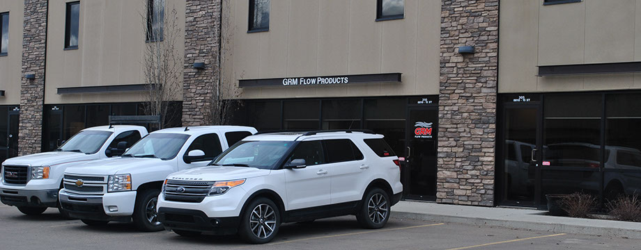 GRM outside view of storefront/warehouse