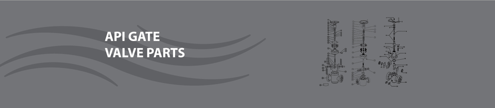 API Gate Valve Part Header